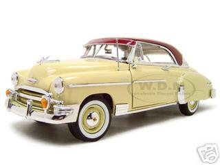 1950_Chevrolet_Bel_Air_Cream_118_Diecast_Model_Car_by_Motormax