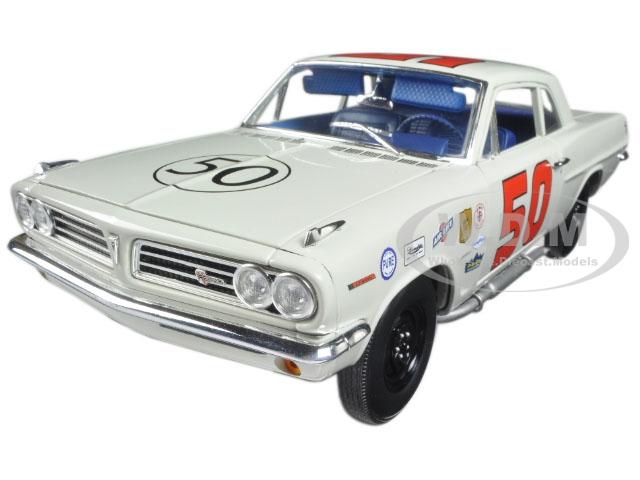 1963 Pontiac Tempest 1963 Daytona Challenge Cup Champion 50 Paul Goldsmith Limited Edition to 228pcs 1/18 Diecast Model Car by Acme