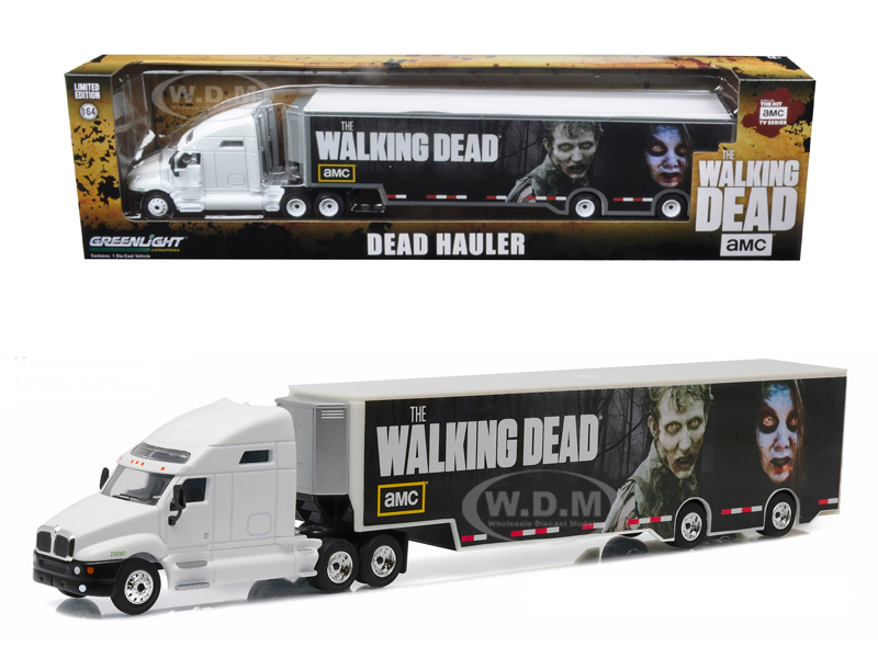 Kenworth T2000 Hauler The Walking Dead TV Series (2010-Current) 1/64 Diecast Model Car  by Greenlight 29849