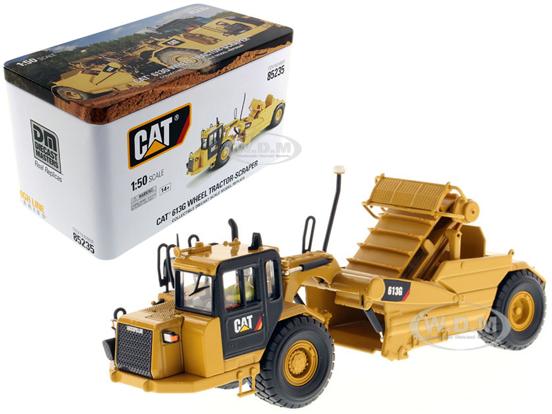 CAT Caterpillar 613G Wheel Scraper with Operator