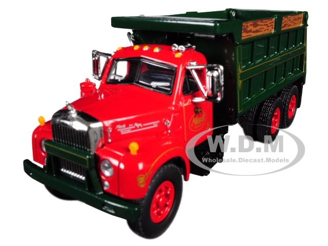 Mack B-61 Tandem Axle Dump Truck
