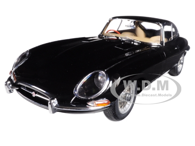 Jaguar_E_Type_Coupe_Series_1_38_Black_with_Metal_Wire_Spoke_Wheels_118_Diecast_Model_Car_by_Autoart