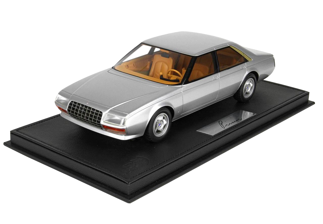 1980 Ferrari Pininfarina Pinin Silver Limited Edition To 300 Pieces Worldwide 1/18 Model Car By Bbr