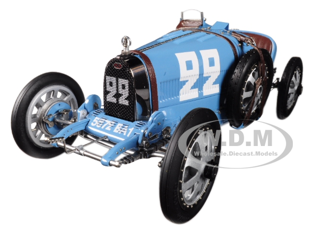 Bugatti T35 #22 National Color Project Grand Prix France Limited Edition To 1000 Pieces Worldwide 1/18 Diecast Model Car By Cmc