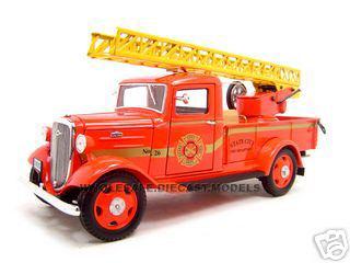 1935_Chevrolet_Fire_Truck_Diecast_Model_124_Diecast_Truck_by_Unique_Replica