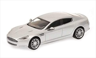2010 Aston Martin Rapide Silver Limited Edition 1 of 1200 Produced Worldwide 1/43 Diecast Model Car by Minichamps