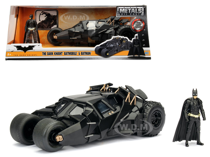 2008 The Dark Knight Tumbler with diecast Batman Figure 1/24 Diecast Model Car by Jada