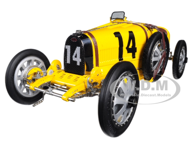 Bugatti T35 #14 National Colour Project Grand Prix Belgium Limited Edition To 500 Pieces Worldwide 1/18 Diecast Model Car By Cmc