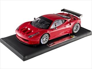 Super Elite Ferrari 458 Italia GT2 Launch Version Red 1/18 Die