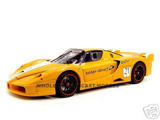 Ferrari FXX 21 Elite Edition Diecast Model 1/18 Diecast Model Car by Hotwheels