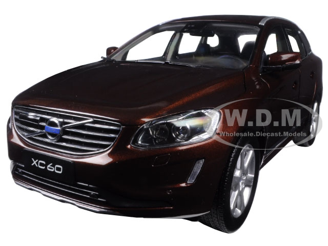 2015 Volvo XC60 Rich Java 1/18 Diecast Model Car by Ultimate Diecast