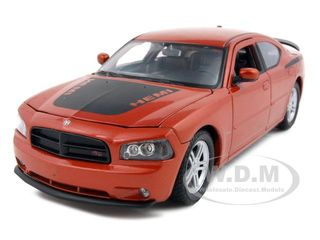 2006 Dodge Charger R/T Daytona Copper 1/24 Diecast Car Model by Welly