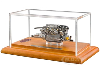 1956 Maserati 300S Engine with Display Showcase 1/18 Diecast Model by CMC