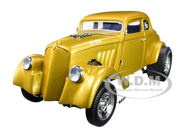 1933 Gasser Metallic Gold Limited Edition To 240 Pieces Worldwide 1/18 Diecast Model Car By Acme