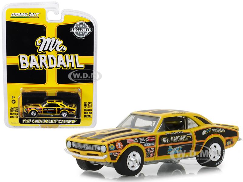 1967_Chevrolet_Camaro_Mr_Bardahl_Hobby_Exclusive_164_Diecast_Model_Car_by_Greenlight
