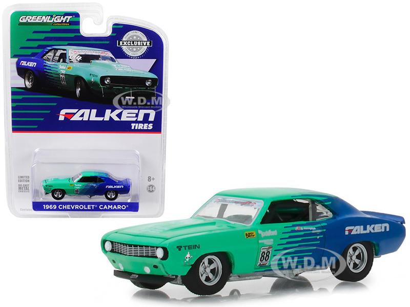 1969_Chevrolet_Camaro_88_Falken_Tires_Hobby_Exclusive_164_Diecast_Model_Car_by_Greenlight