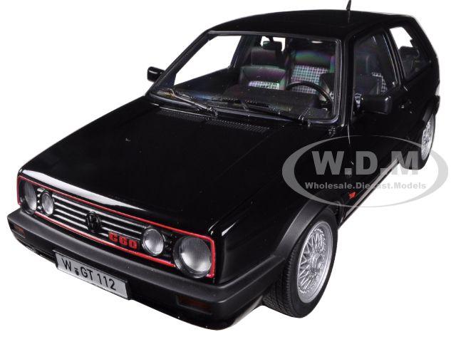 1990 Volkswagen Golf GTi G60 Black 1/18 Diecast Model Car by Norev