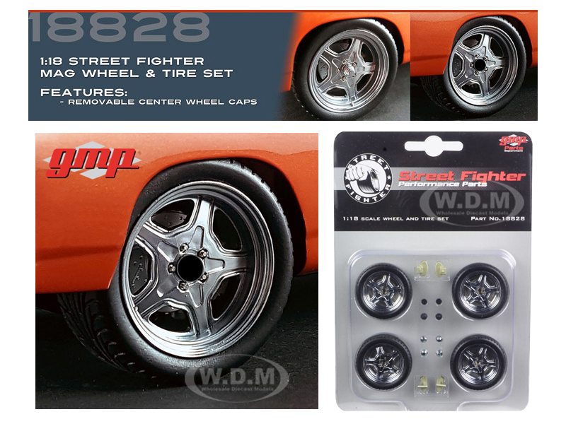 Wheel and Tire Set of 4 from 1970 Plymouth Road Runner