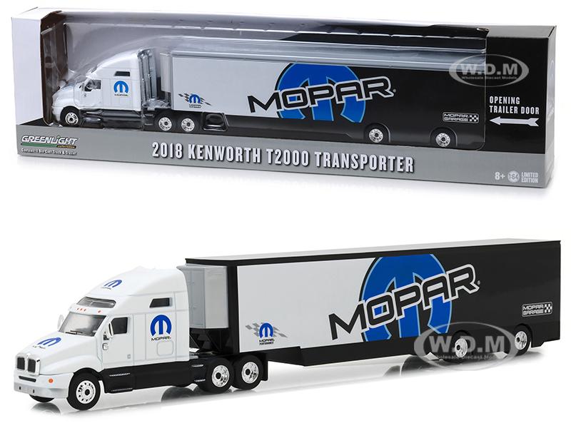 2018_Kenworth_T2000_MOPAR_Transporter_Hobby_Exclusive_164_Diecast_Model_by_Greenlight
