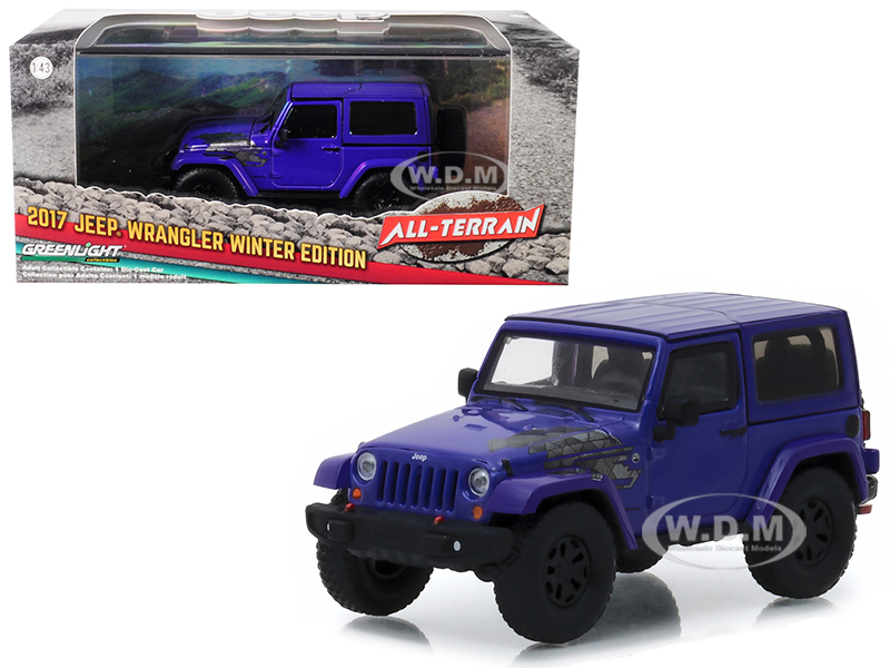 2017_Jeep_Wrangler_Winter_Edition_Xtreme_Purple_AllTerrain_Series_143_Diecast_Model_Car__by_Greenlight