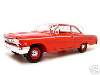 1962_Chevrolet__Bel_Air_Red_118_Diecast_Model_Car_by_Maisto