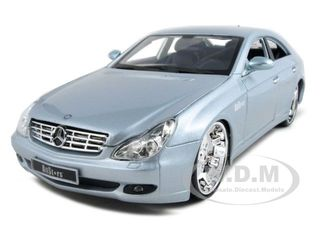 """Mercedes CLS Silver """"All Stars"""" 1/18 Diecast Model Car by Maisto"""