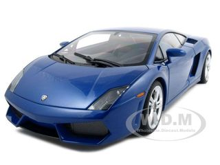 Lamborghini Gallardo LP560-4 Monterey Blue 1/18 Diecast Model Car by Autoart