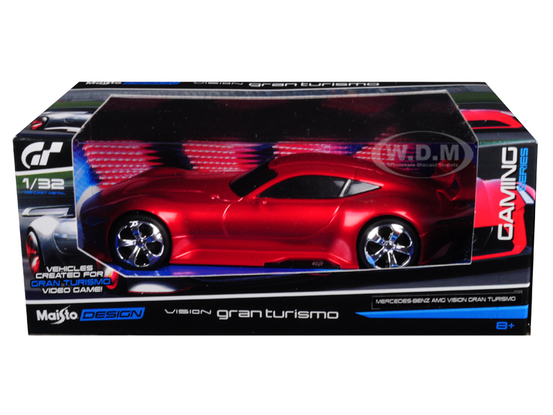 Mercedes_AMG_Vision_Gran_Turismo_Red_132_Diecast_Model_Car_by_Maisto
