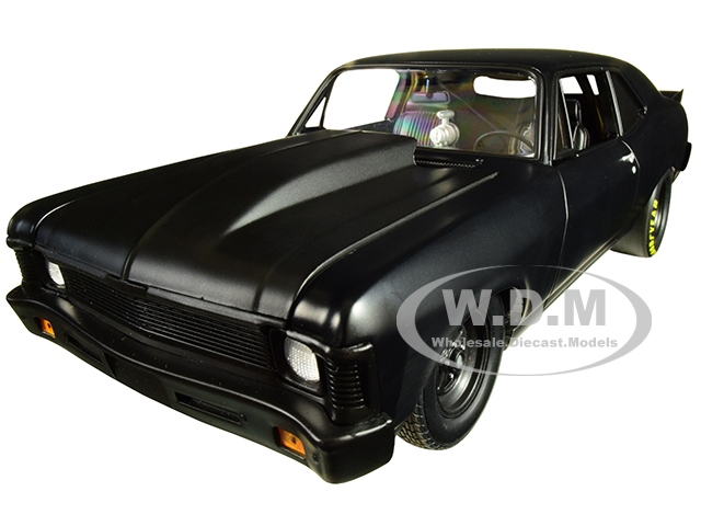 1969_Chevrolet_Nova_Blackout_1320_Kings_Satin_Black_Limited_Edition_to_570_pieces_Worldwide_118_Diecast_Model_Car_by_GMP