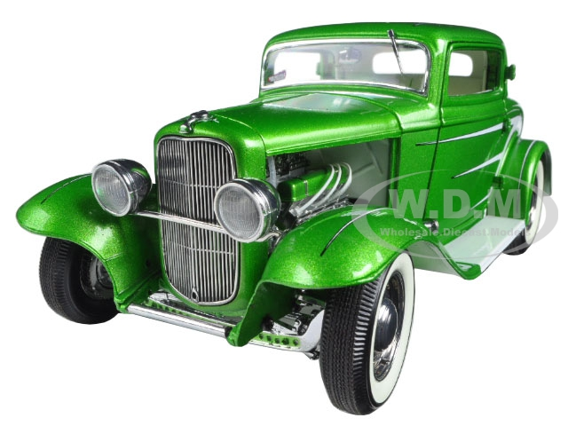 1932 Ford Grand National Deuce Series 6 Last In Series Synergy Green Metallic Limited Edition To 996pcs 1/18 Diecast Model Car By Acme