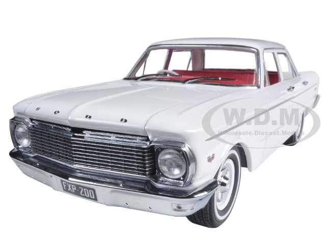 1965 Ford XP Falcon White 50th Anniversary Limited to 1250pc with Certificate of Authenticity 1/18 Diecast Car Model by Greenlight