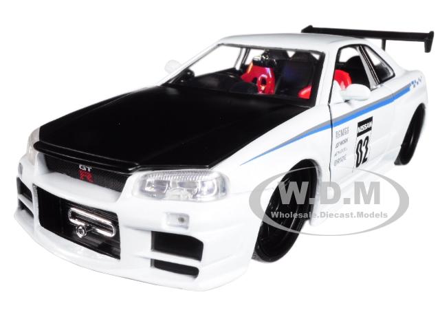 2002 Nissan Skyline GT-R R34 White 02