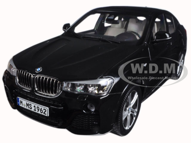 BMW X4 (F26) Sapphire Black 1/18 Diecast Model Car by Paragon (97094) photo