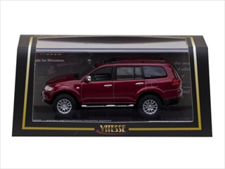 Mitsubishi Pajero Sport Metallic Red 1/43 Diecast Model Car by Vitesse