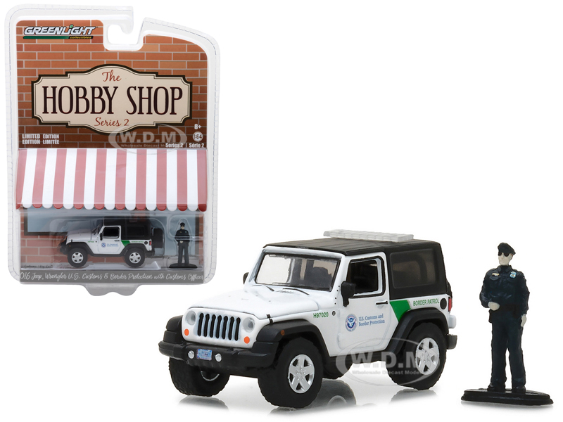 2016 Jeep Wrangler US Customs and Border Protection with Officer Figure
