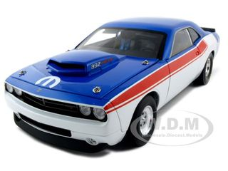 Dodge Challenger Concept R/T 392 Super Stock Red/White/Blue 1 of 600 Made 1/18 Diecast Model Car