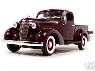 1937_Studebaker_Express_Pickup_Burgundy_118_Diecast_Model_Car_by_Road_Signature