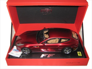 2011 Ferrari FF Maranello Metallic Red 1/18 by BBR