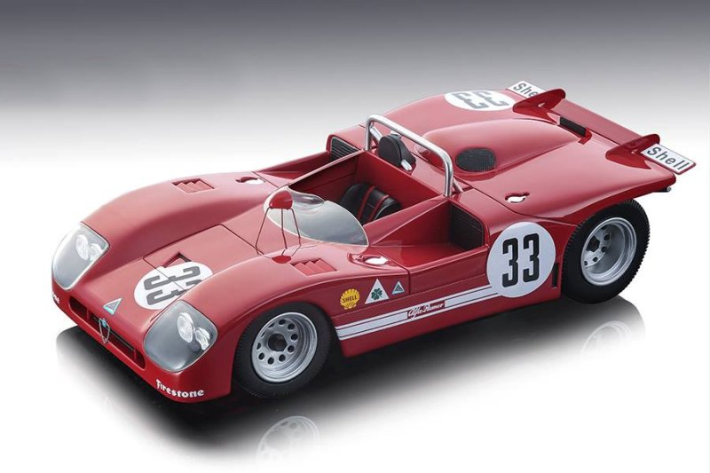 Alfa_Romeo_T333_33_N_Galli_R_Stommelen_2nd_Place_Sebring_12hrs_1971_Mythos_Series_Limited_Edition_to_100_pieces_Worldwide_118_Model_Car_by_Tecno