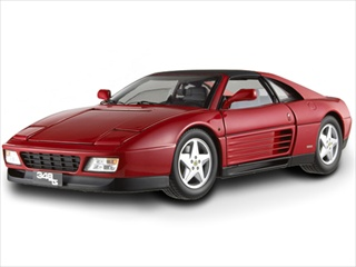 Ferrari 348 TS Elite Edition Red 1/18 Limited Edition by Hotwheels