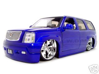 Cadillac Escalade Diecast Model Blue 1/18 Diecast Model Car by Jada