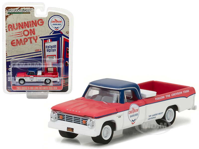 1965 Dodge D-100 Pickup Truck Chevron Long Bed with Tool Box
