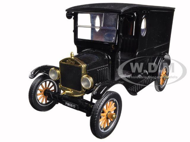 1925 Ford Model T Paddy Wagon Black 1|24 Diecast Model Car by Motormax