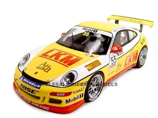 Porsche 997 GT3 Cup 2007 Team Jebsen D.OYoung 55 1 of 2000 Made 1/18 Diecast Model Car by Autoart AA80785