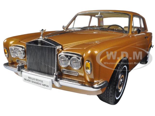 1968 Rolls Royce Silver Shadow Bronze 1/18 Diecast Model Car by Paragon (98205) photo
