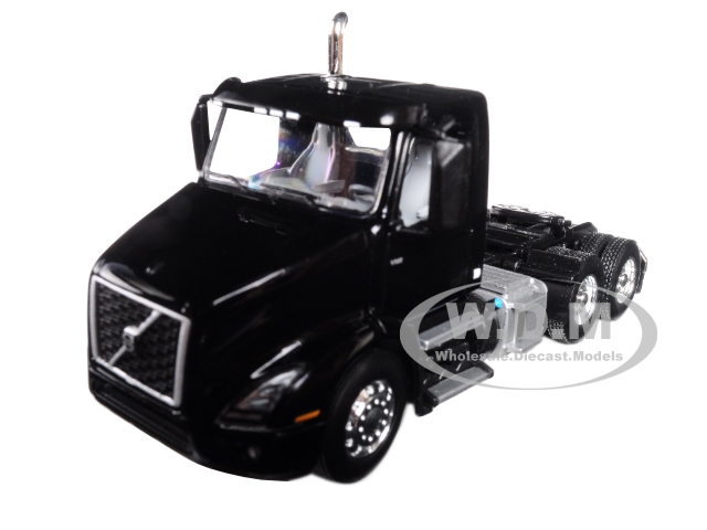 Volvo VNR 300 Day Cab Black 1/64 Diecast Model by First Gear