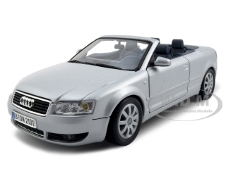 2004_Audi_A4__Convertible_Silver_118_Diecast_Model_Car_by_Motormax
