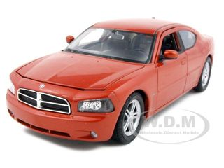 2006 Dodge Charger R/T Copper 1/24 Diecast Model Car by Welly