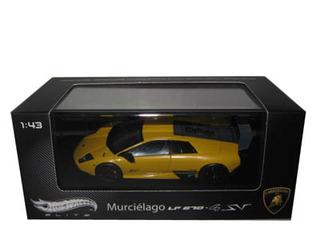 Lamborghini Murcielago LP 670-4 SV Yellow Elite Edition 1/43 by Hortwheels