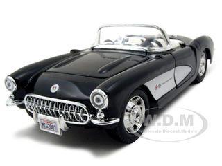 1957 Chevrolet Corvette Black 1/24 Diecast Model Car by Maisto